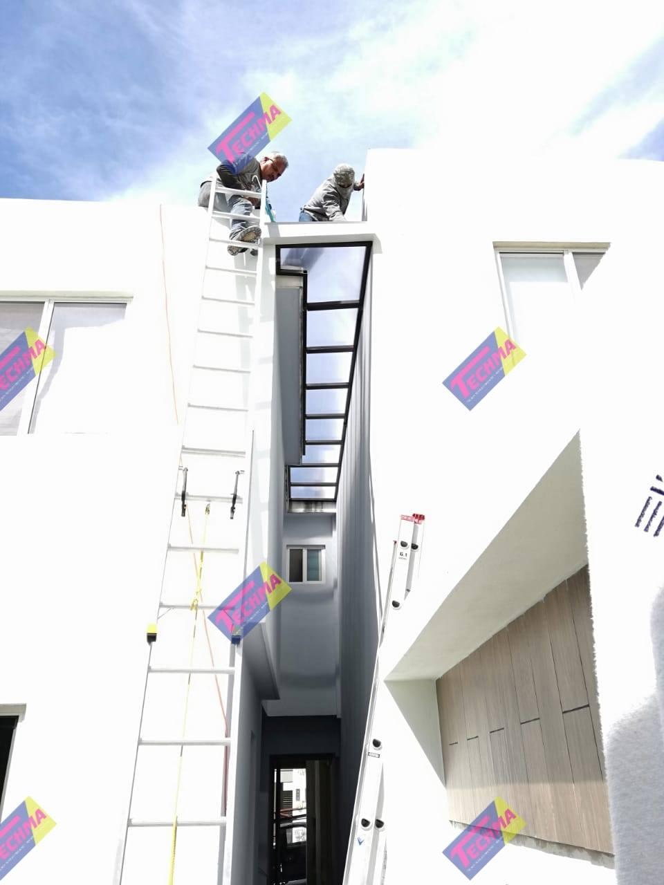 techos de policarbonato para terrazas