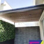 Techo de policarbonato para patio